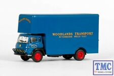 E23605 OO/HO Gauge Bedford TK Luton Box Van Woodlands Transport Exclusive First
