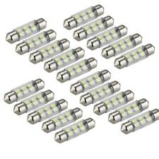 20 0,3W 36mm 6 LED 3528 SMD Soffitte Lampe Sofitte Innenraumbeleuchtung Weiß NEU