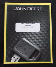 JOHN DEERE 6520 6620 6820 7220 7320 7420 TRACTOR 563 LOADER OPERATORS MANUAL