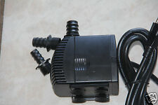 320 GPH Submersible Water Pump Aquarium KOI Pond Fountain Sump Waterfall