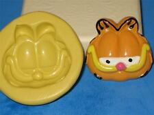 Garfield 2D Push Mold Food Safe Silicone A158 Cake Topper Candy Gumpaste Fondant