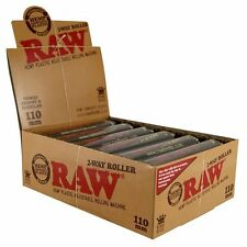 RAW Rolling Machine Eco Plastic 2 Way Adjustable 110mm King Size Roller 12 Pack