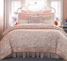 $150! NEW SFERRA Florissa Petal Rose Pink Cotton Voile Standard Pillow Sham