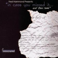 Fred Hammond : In Case You Missed It & Then S CD (2001) **DISC ONLY