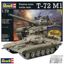 Soviet Battle Tank T-72 M1 - 1/72 Revell Modern Vehicles Model Kit #3149 NEW