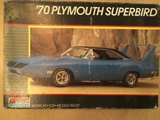 Vintage Monogram 1970 Plymouth Super Bird COLLECTOR-QUALITY KIT! - 1/24 Scale