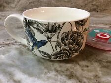 Humming Bird Microwave Bowl With Handle. Beautiful. 2 Cups. New.