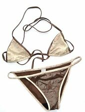 Christian Dior bikini made in italy taille FR36 UK8
