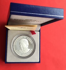 100 FRANCS ROMY SCHNEIDER 1995 B.E en ARGENT - MONNAIE NEUVE / UNC -