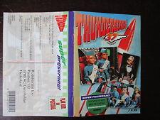 THUNDERBIRDS LIVRET DE 37 STICKERS JEU CONCOURS HOLLANDAIS 1994 GERRY ANDERSON