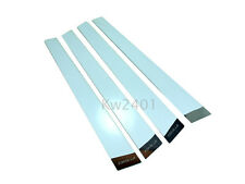 Stainless Steel Door Pillars Cover Trim Exterior For Toyota Corolla AE 111