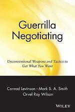 Jay Conrad Levinson - Guerrilla Negotiation (1999) - Used - Trade Paper (Pa