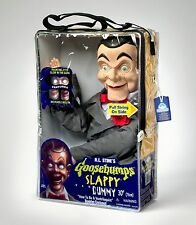 SLAPPY VENTRILOQUIST DUMMY DOLL FROM GOOSEBUMPS - GLOWING EYES! NEW! RARE!