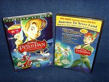 Disney Peter Pan + WalMart Exclusive DVD! (DVD, 2007, 3-Disc, Platinum Edition)