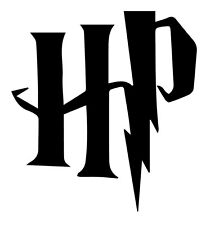 Harry Potter 'HP' Decal for Car/Boat/Truck/Trailer/Laptop