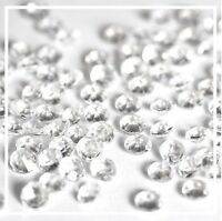 4.5mm Clear Wedding Decoration Scatter Table Crystals Diamonds Acrylic Confetti