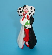 FIGURINE DE COLLECTION WALT DISNEY BULLYLAND LES 101 DALMATIENS : CRUELLA NEUVE