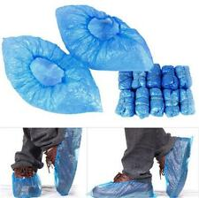 100pc Disposable Shoe Covers Blue Colour Carpet Floor Protector Foot Covering FI
