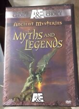 A&E Ancient Mysteries - Myths and Legends (DVD, 2001, 2-Disc Set) New