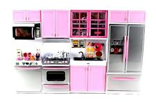 Deluxe Modern Kitchen' Battery Operated Toy Kitchen Playset