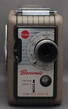 KODAK BROWNIE 8mm Vintage Movie Camera f/2.7 13mm lens Clean!