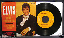 ELVIS PRESLEY-Suspicious Minds-Picture Sleeve+45-RCA VICTOR #74-9764
