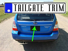 Suba FORESTER 03 2004 - 2008 09 Tailgate Trunk Trim