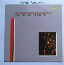 P 5002 - CHORAL GUILD OF ATLANTA - Christmas Music RUTTER / IVES - Ex LP Record