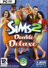 JEU PC DVD ROM../....LES SIMS 2.....DOUBLE DELUXE........
