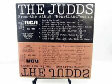 LP - THE JUDDS Wynonna & Naomi J-0287 - from Album HEARTLAND promo album