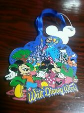 Disney Parks Storybook Christmas Ornament Chip-Dale Donald Goofy Mickey New
