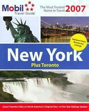 Mobil Travel Guide: New York 2007 by Mobil Travel Guide Staff (2006, Paperback)