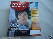 New Pinnacle Studio Media Suite Plus Version 9 Video/Audio/Photo Editing