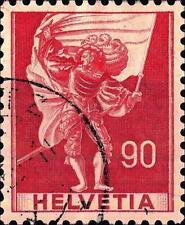 SWITZERLAND - SVIZZERA - 1941 - Soggetti storici - Serie Ordinaria - 90 c.