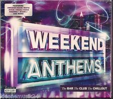 "3 CD Rihanna, Lana Del Rey, Jessie J, Mohombi, Gotye ""Weekend Anthems"" Neu/OVP"