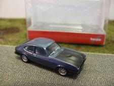 1/87 Herpa Ford Capri RS eisblaumetallic/schwarz 038508