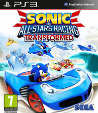 Sonic All Stars Racing Transformed-PS 3