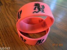 NEW- ICP INSANE CLOWN POSSE  Hatchetman rubber wristbands (2-piece set) red/blk