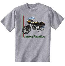 DUCATI 900 SS DESMO Ispirato-Nuovo T-Shirt grigio Cotone-Tutte le taglie in magazzino