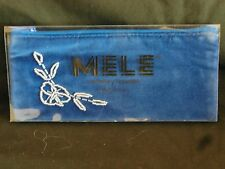Mele & Co Travel Jewellery Purse Blue Fabric - New