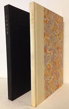 THE MASQUE OF COMUS by John Milton Limited Editions Club 1954 #1,088 Illus.
