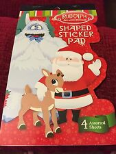 RUDOLPH THE RED NOSED REINDEER STICKERS