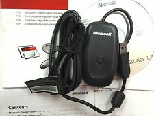 Official Genuine Microsoft Xbox 360 Wireless Gaming PC Receiver - Black UK Stock