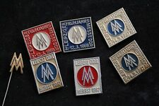 LOT 7 East Germany FDJ Fair of the Masters of Tomorrow pin badge DDR Science