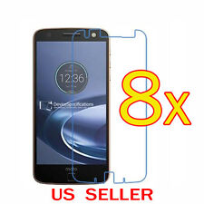 8x Clear LCD Screen Protector Guard Shield Film For Motorola Moto Z Force Droid