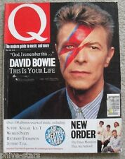 DAVID BOWIE Aladdin Sane English Record Rock Pop Music Mag New Order Jethro Tull