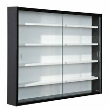 Display Cabinet Collection Hallway Study Exhibit Furniture Interlink Glass Black