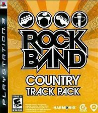Rock Band: Country Track Pack USED SEALED (Sony Playstation 3) PS PS3