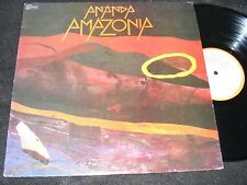 Small/ Private Label WORLD JAZZ LP Ananda AMAZONIA 1985 Sonic Atmospheres US Iss
