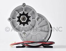 450W 36 V DC electric motor f bicycle bike gokart scooter MY1020z gear reduction